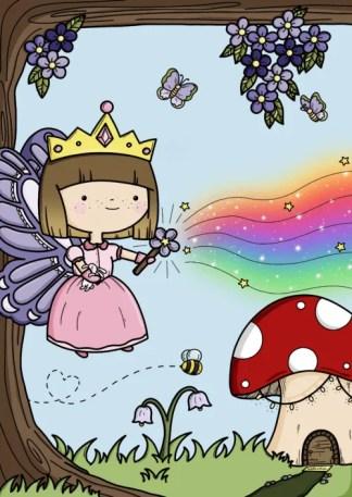 Fairy princess by phoebe steel art