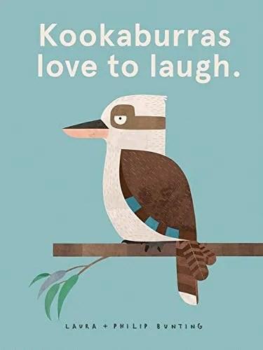 kookaburras love to laugh cover