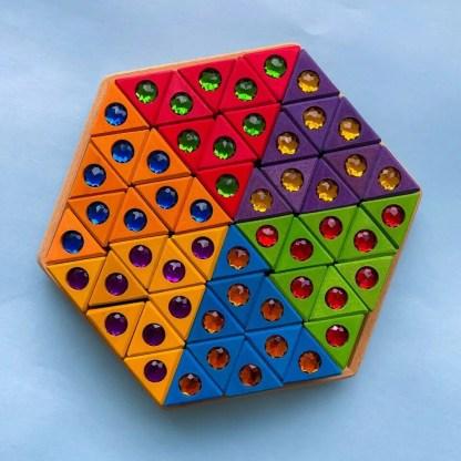 JNR triangles bauspiel