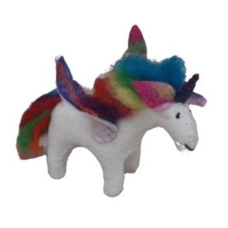 rainbow felt unicorn 2