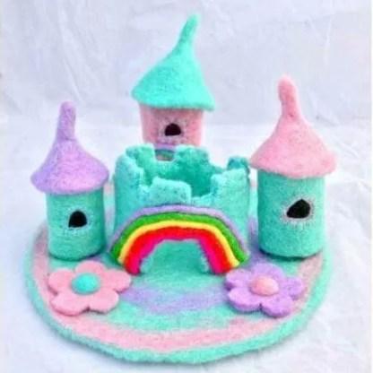 felt castle unicorn 3