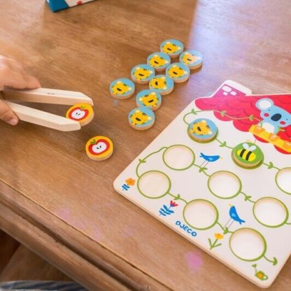 djeco wooden counting set