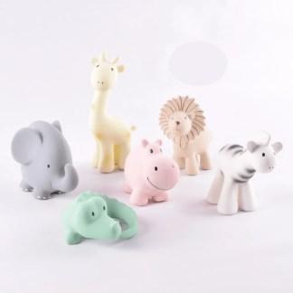 zoo animals tikiri bath toys
