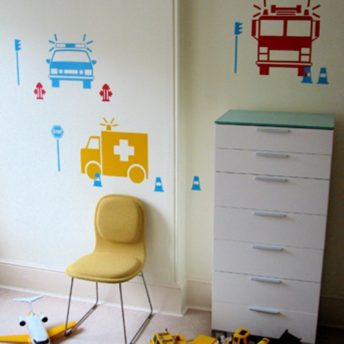 Good It us An Emergency Wall Decal