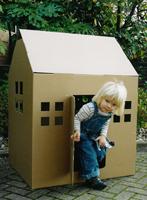 Playhouse - Cardboard Playhouse