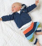 Mini Limited Pure Cotton 3-Piece Zebra Outfit