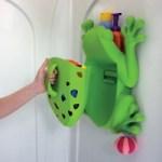 frog pod bath tidy