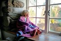 merino wool nursery blanket at little green earthlets