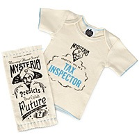 mysterio baby fortune telling tees