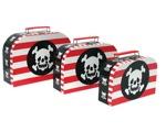 Three Pirate Suitcases