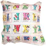 Alphabet Blocks Large Cushion