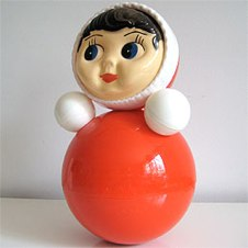 Rusian Girl Bell Toy from Three Potato Four