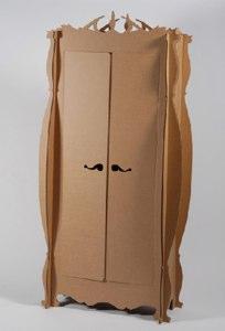 Giles Miller Cardboard Wardrobe