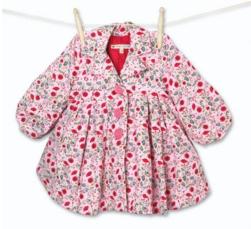 mini mode_ Girl_s All Over Print Poppy Print Coat in Pink - 30-162967-10.jpg