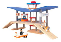 airport set by plan toys