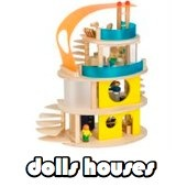 woody click dolls house for dolls section