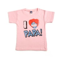 I Love Papa T-Shirt by Junk Food