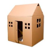 Giant Cardboard Play House