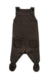 Lille Barn Cashmere Cuddle Bark Knitted Playsuit