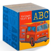 ABC Block Book Things That Go by Crocodile Creek