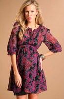 ASOS MATERNITY Chiffon Paisley Print Dress