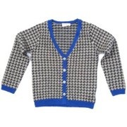 Kantele Houndstooth Cardigan by Quincy