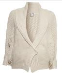 chunky shawl maternity jacket