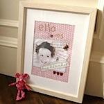 ella loves handmade personalised pictures