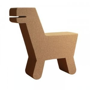 Pop Cork Dinosaur Chair by La Maison De Lena