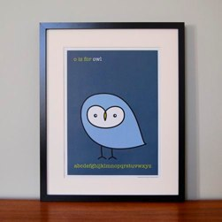OWL PRINT BY MADE WITH LOVE BY MRS BOOTH