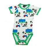 ej sikke lej Farmer Baby Cotton Microrib Long Sleeved Body