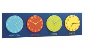 jet set clock at habitat