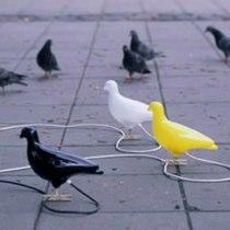 Pigeon Wall Light by Thorsten Van Elten