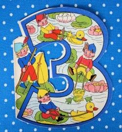 three today elves vintage card