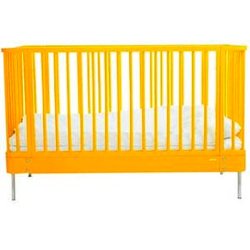 brio sleep cot in yellow