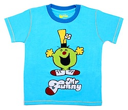 Mr. Funny Chenille Tshirt by Fabric Flavours
