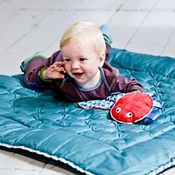 Win! A Ubang Play Blanket & Socks plus Dwell Studio Soft Blocks worth £77.95
