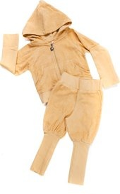 Sand organic tracksuit by Shampoodle