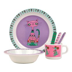 Kids Melamina Animalitos Crockery Zara Home