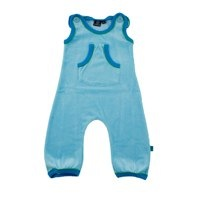ej sikke lej Soft Blue Velour Playpants