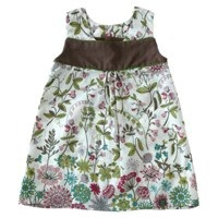 eponime Sleeveless dress flowery Liberty