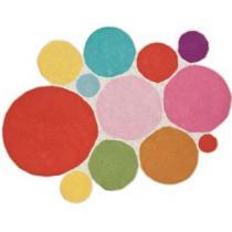 Pink Dots Rug by Sebra