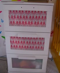 aneboda drawers with famille summerbelle tape