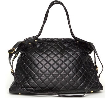 Quilted Tote Bag by Marc B