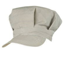 TROIZENFANTS NINA Striped cap - grey