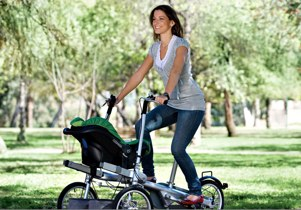 taga bike pram with maxi cosi seat