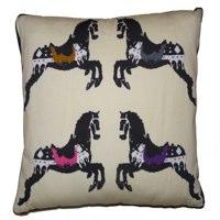 giddy up horsey cushion