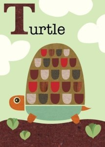 letter T for turtle