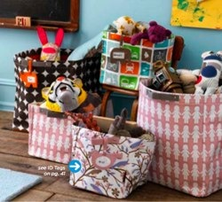 dwellstudio storage totes