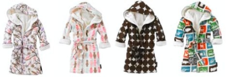 Dwellstudio dressing gowns